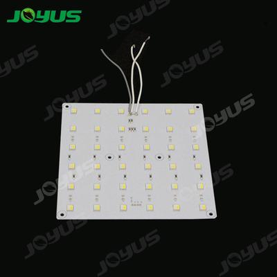 LED Light Pcb Board Smd5050 Light Dual Color White Red Square 140*140mm 24v 36