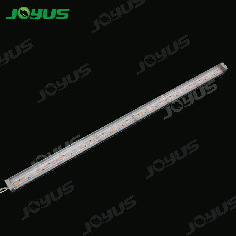 Full Spectrum Led Grow Light Bars Smd5630 144leds/M 24v IP40 Waterproof 35w/M For Fruit Vegetable Growth