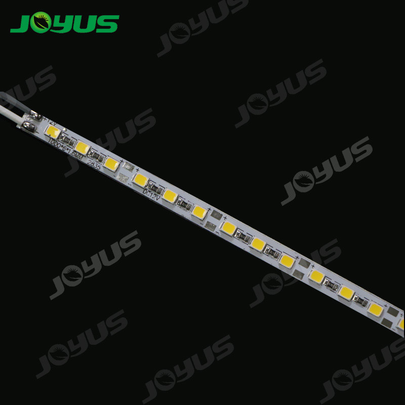 6mm 12v Rigid Led Strip Light Smd2835 120leds/M High Cri90 15w For Advertising Light Box