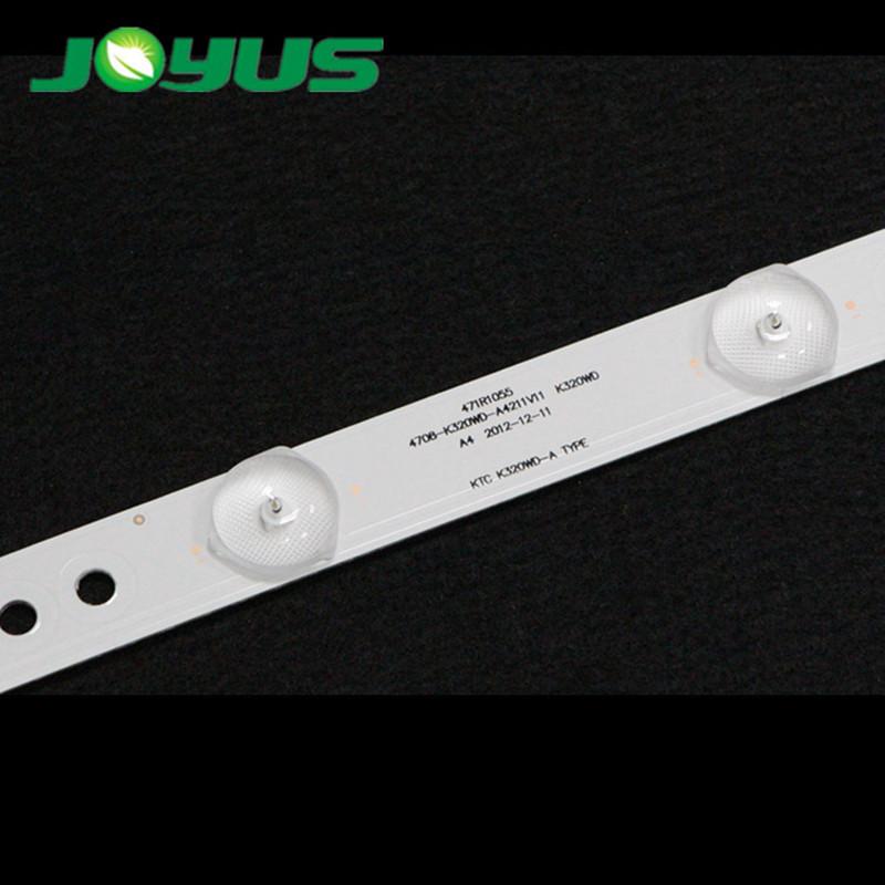 32 inch TCL led tv backlight price KTC-K320WD-A 10 leds