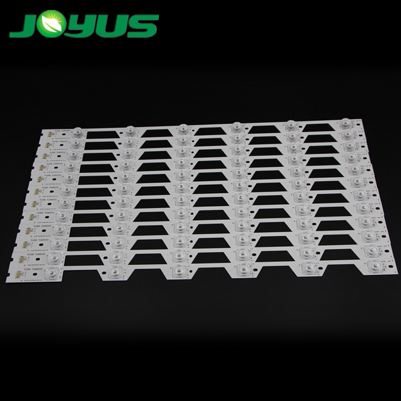 led backlight strip best price for 65 inch tv YHF-4C-LB6506-YH01J TOT-65P1-12X6-3030C TCLL65P1-CUD 6 leds 550mm