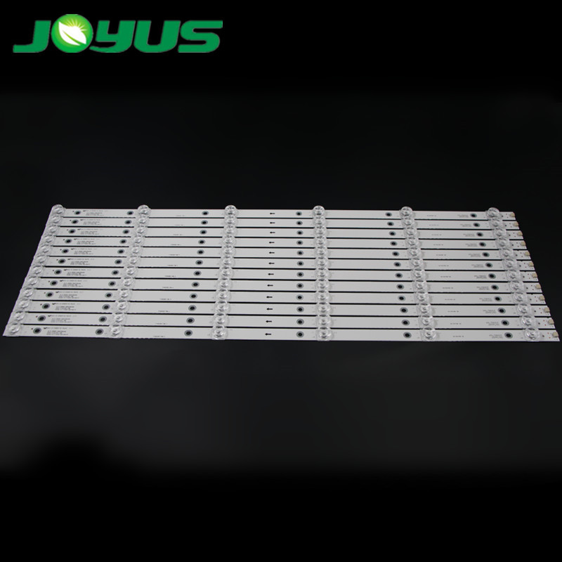 65 inch TV led backlight strip JS-D-JP65EK-062EC(80228) 2008279A E65EK-P1000/600-2BN 6V 6 leds 12 pcs/set