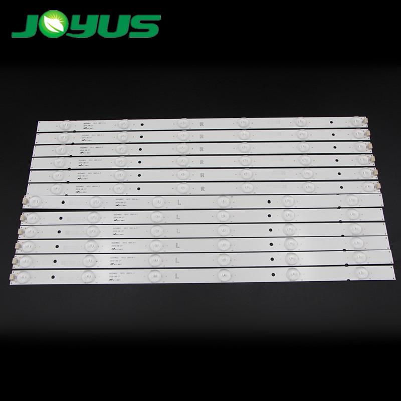 48 inch Skyworth TV LED Backlight Strip DLED48GC-5X12-0001.A-1 2 6 leds R L 12 pcs/set