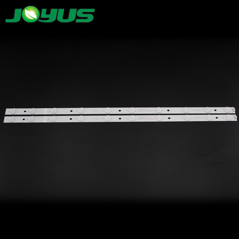 32 inch haier TV led bar backlight strip 43-LB320T-GY2 4C-LB320T-DS7 TD32L43B-V01 LED-32B501V LE32B3000W 2 pcs/set 10 bulbs/pc