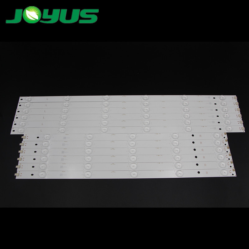 55 inch Changhong TV LED backlight strip LB55061-55D3000&D2000-L/R 55D3000/D2000 55U3 SVJ550AD6-REV03-11LED-R/L LB-C550F14-E4-G1-SE1 LB-C550F14-E4-S-G1-SE2