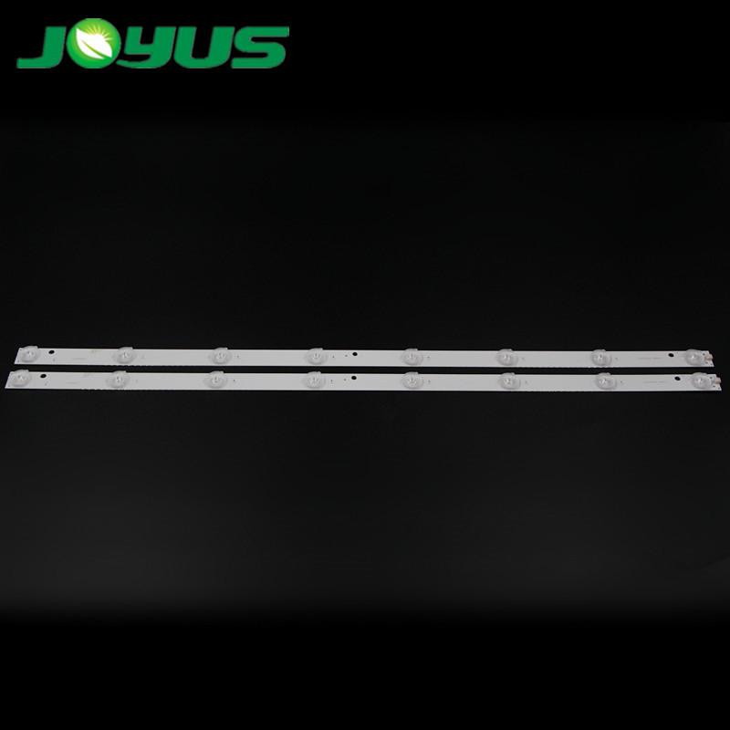 tv backlight led strip 32 inch SJ.HZ.D3200801-2835AS-F MK-8188 CV315P 1.14.FD320003 NINTAUS LW-32 S1 YSFD320003 8 leds 3V