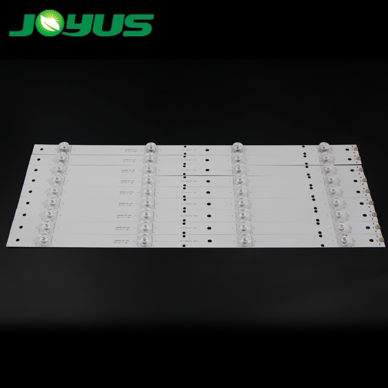 49 inch tv backlight led strip lights DLED49HD 9X4 1005 E177671B/PEC BPM2V0 1732 9 Pcs in one TV 4 lamps