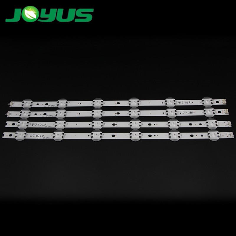 49 uj led backlight tv lg strips ser leds de retroiluminacion innoteck 49 V17 ART3 2862 2863 6916L-2862A 6916L-2863A V1749L1 49UV340C 49UJ6565
