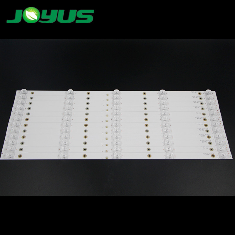universal tv backlight led strip 55inch leds para 6v MS-L1543 V2 A3 188-192LM CX550DLEDM 5 leds/pc 10 pcs/set