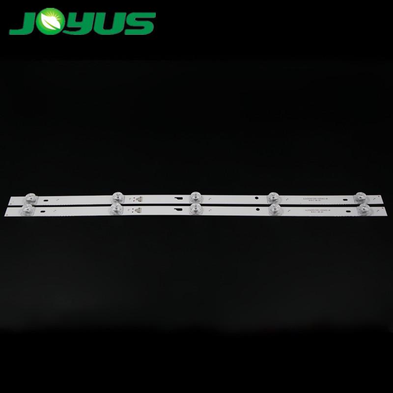 bande led tv backlight 32 inch 6v JL.D32051330-020AS-M LED32HD310 LED32860 4C-LE3202-YC1P0Z1 5 leds 2 pcs/set 528mm