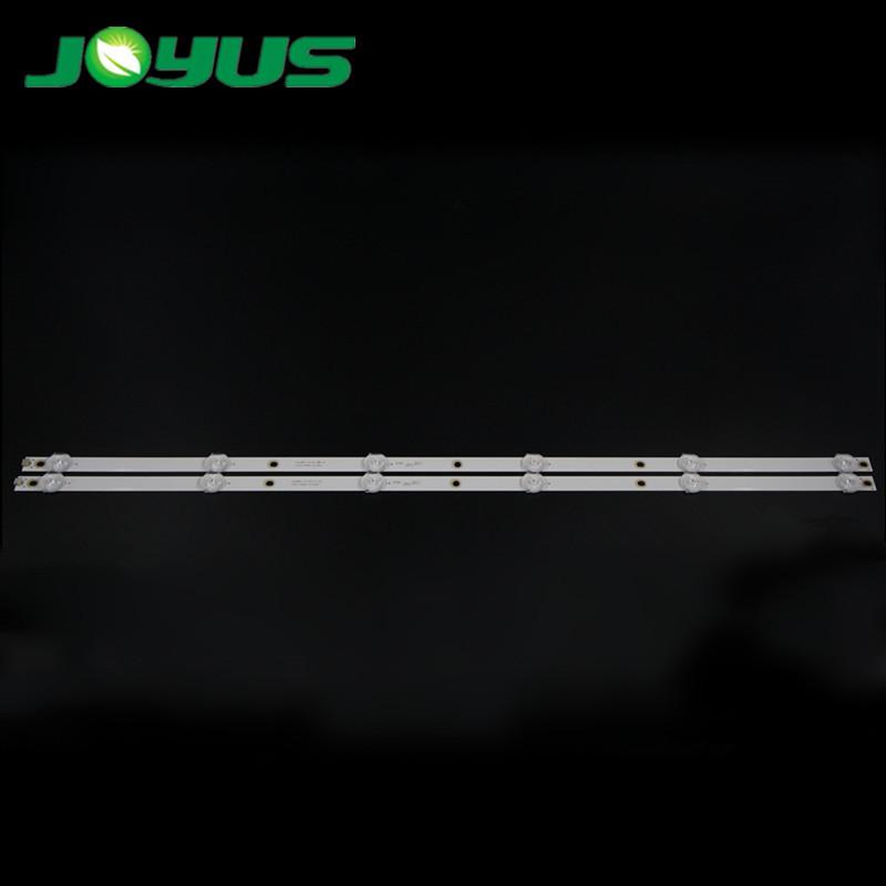 2 pcs/set tiras de led for 32 inch ledi tv phi li ps 4708-K32WDC-A2113N01 K320WDC1 A2 32PHF5082/T3 4708-K32WDC-A1113N01 K320WDC2B