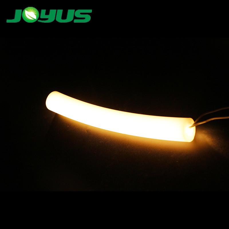 neon sign round flexible led strip light tube white color 6000k 360 degree beam angle 12v 24v smd2835 120 leds/m