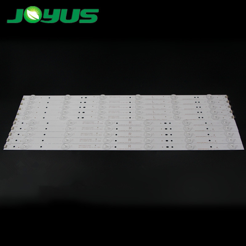 led backlight strips lights for 49 inch Changhong light tv repair 49D1000 C1000 SVJ490A06_Rev03_6LED_L R 49D3503V1W6C1B49817M
