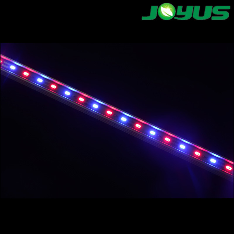 660nm 730nm far red led single bar infrared for plant growing with aluminum profile waterproof cable connetors