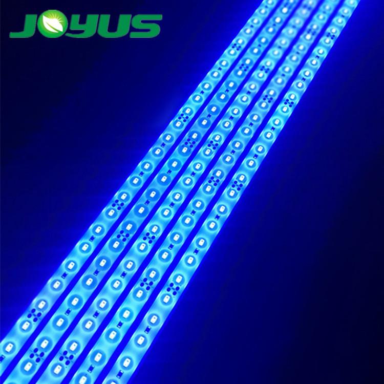 5630 24v agriculture lighting led grow light 450nm 470nm blue color 60 leds/m ip68 waterproof rank