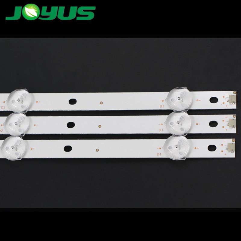 brete tv led bar 9led parts leds tira 43 pulgadas CEJJ-LB430Z-9S1P-M3030-D-1 CEJJ-LB430Z-9S1P-M3030-F-2 210BZ09D0B334BH02K