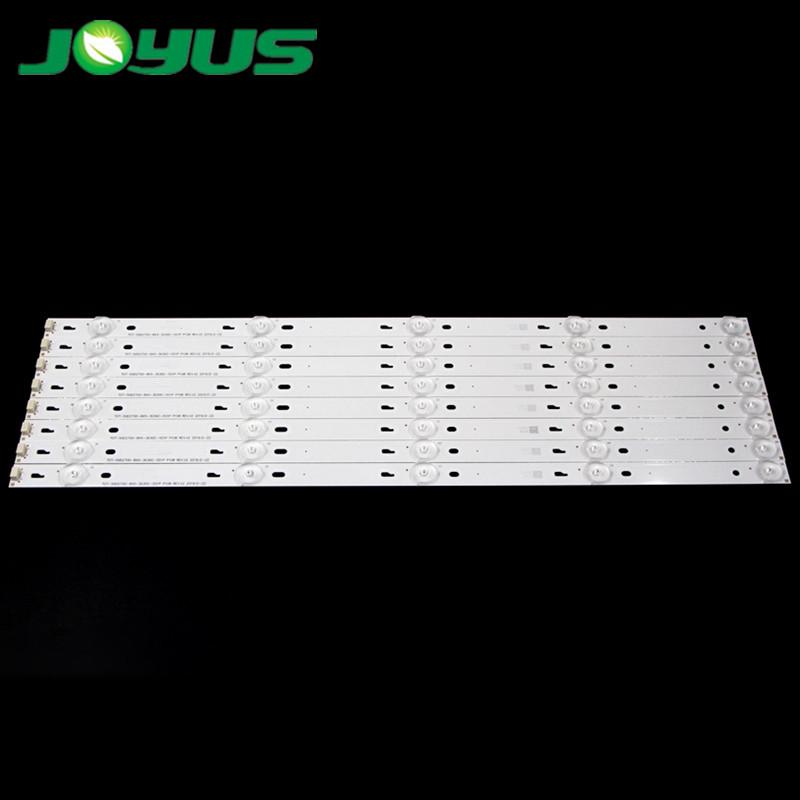 back light led strips backlight for tira tv tcl 50 inch TOT_50D2700_8X5_3030C L50F3800A D50A710 50HR330M05A0 V2 4C-LB500T-YH2