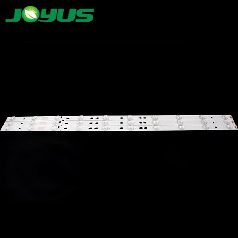 led tv backlight strips for 32 inch haier LED315D10-07(B) LE32F3000W LE32B510F LE32B310G LE32B310N LE32A7100L 10 leds 640mm 3v