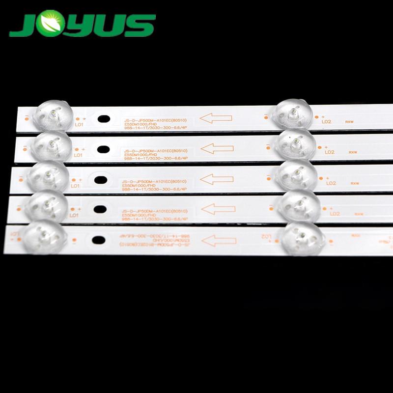 micromax TV led backlight ultraviolet 10 lamps for ROWA JS-D-JP50DM-A101EC E50DM1000/FHD E55DM1000/FHD E55DM1000/UHD