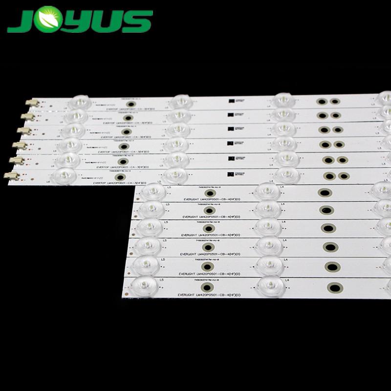 eds for tvled tv 42 pulgadasbarras led backlight 5+6leds LBM420P0501-CA-3 TV0D3046717M-HJ-A TV0D3037417M-HJ-B  42PFL3208H/12