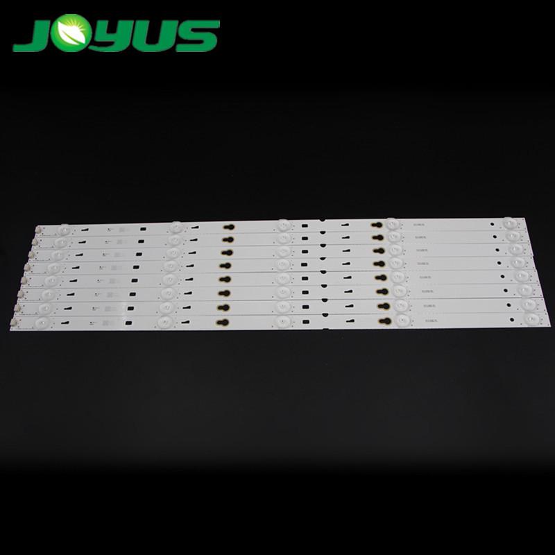 tcl 55 inch back lights tv strips 6v smd 3030 5leds TOT_32F3800A_2X5_3030C_V3 55S100 B55A838 L55F3800A LE55D8600 L55F3303B