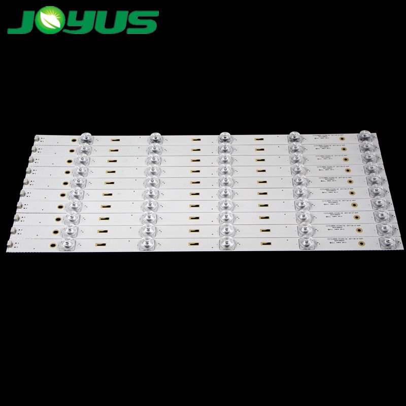 led backlight tv strips tcl 49 inch 3V 5leds 458mm for new and replacement TCL49D05-ZC23AG-02 4C-LB490T-ZC2 303TC490033 TC490M02
