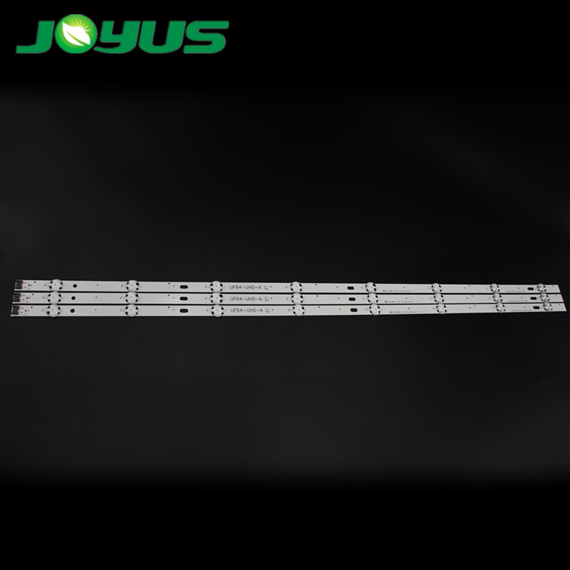 detector de venas 3 pcs led backlight strip rub UF64-UHD-A 43UH610  43UF640 43UF6100 43UF6100-CB 43LG61CH-CK 43LH5700/43LH60FHD