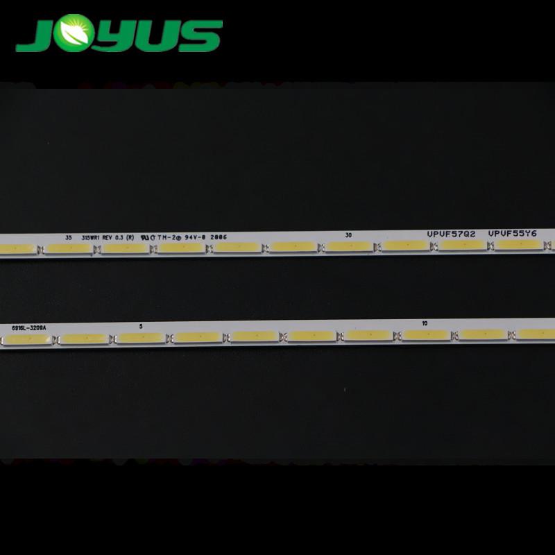 barra led backlight tv len led strip de tv LG 32inch SMD 8520 32 leds 2pcs/pair 6916L-3209A 315WR1 REV 0.3 VPVF57Q02 VPVF55Y6