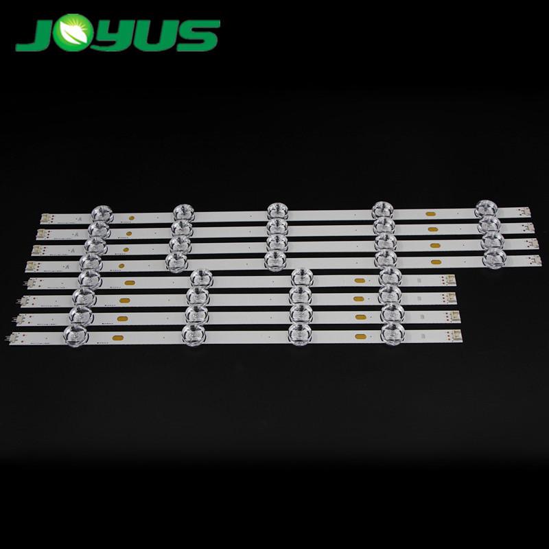 LG bar light set tira de led backlight par televisor A+B 9 leds FR4 PCB 47LB5800 5610-CD 652V 650V 5610 6500 LG47LB6300 47GB6500