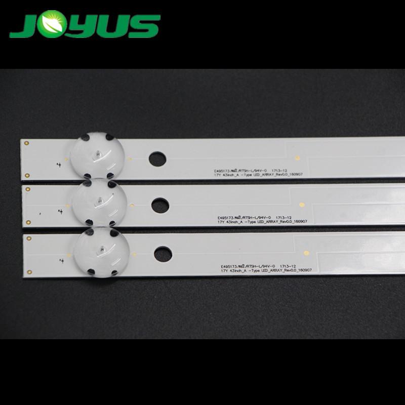 led bar light aluminum strip for 43 inch LC43490063A 60X 58A 59A 60A 61A 62A 64A 69A 74A 43UJ65_UHD_L 634 635 630V 6300-CA LG17Y