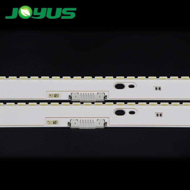 2pcs straight edge led strips samsung tv 49 UE49KU6500 BN96-39671A 39672A 39880A 39882A 39674A 39673A  V6ER_490SMA/B_LED58_R2
